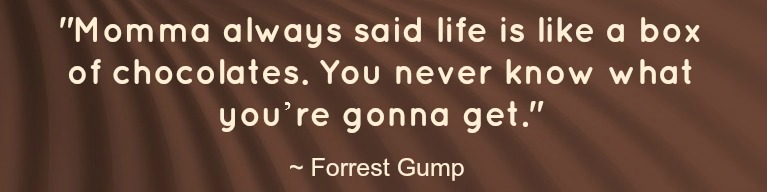 chocolate - forrest gump